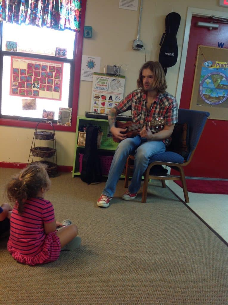 Music Lessons at Happy Bunnies Child Care School